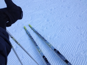 "My ""Skinny"" Skis for Ski De Fond"