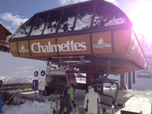 The Chalmettes lift, the path to all of our dreams.